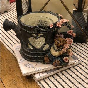 Boyds Bear Lydia Shower Of Roses Candle Holder